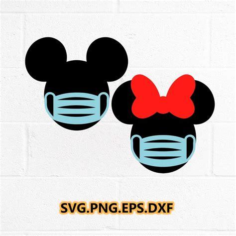 disney  quarantined svg mickey mouse svg file mask face svg disney svg mickey