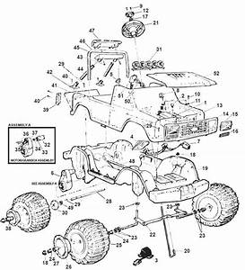 Power Wheels Monster 4x4 Parts