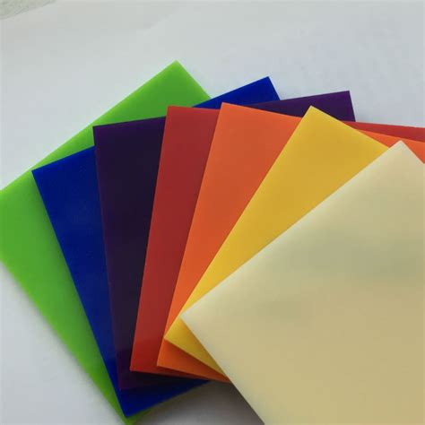 plastic sheets cut to size and shape the plastic
