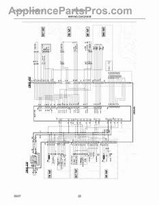 Parts For Electrolux E42bs75eps  Wiring Diagram Parts