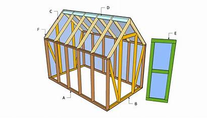 Greenhouse Plans Diy Mini Shed Wood Wooden