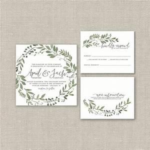 wedding invitation suite deposit diy rustic woodland With average cost of wedding invitation suite