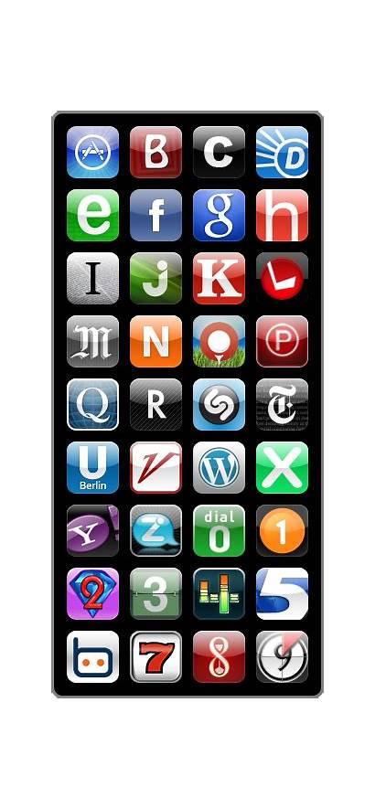 App Alphabet Iphone Icon Icons Letter Apple