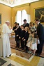 Royal Musings: The Duke of Calabria and family meet the Pope