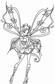 Best Realistic Fairy Coloring Pages Ideas And Images On Bing