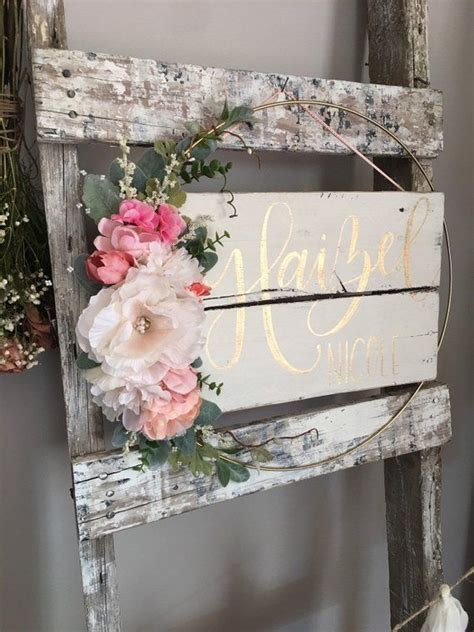 nursery  sign nursery decor baby girl  sign