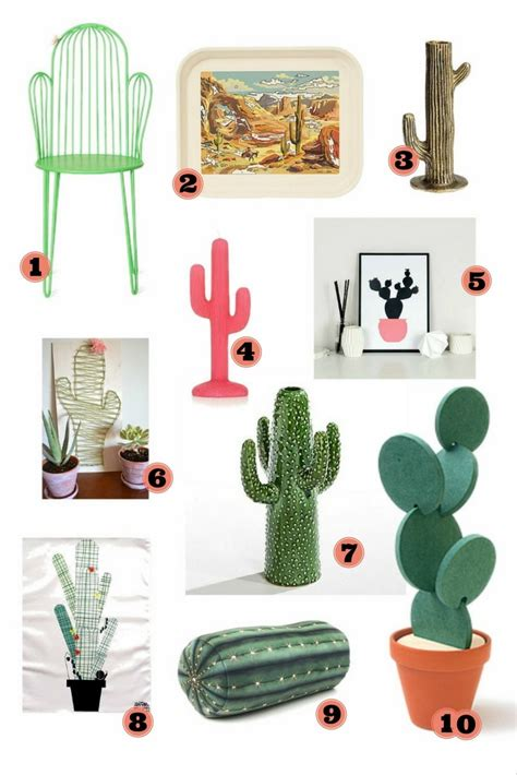 home interior accessories shop the trend cactus home decor around the houses