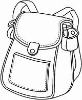 Clipart Bag Bags Library Clip sketch template