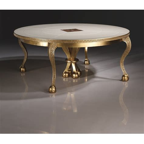 mother of pearl table l mother of pearl gold leaf dining table