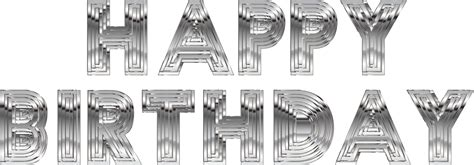 Free Silver Birthday Cliparts, Download Free Clip Art