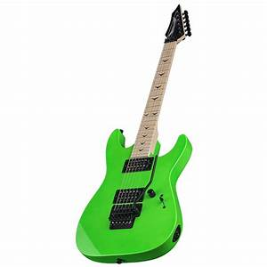 Dean Custom Zone II Floyd Electric Guitar, Nuclear Green ...