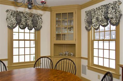 custom  painted colonial style corner cabinet  maple