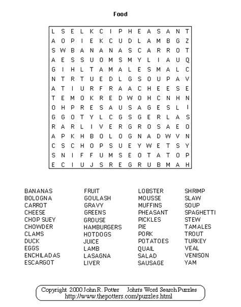 puzzle cuisine healthy food healthy food word search