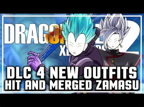 DLC Pack 4 NEW OUTFITS SPECULATION I Dragon Ball Xenoverse 2 DLC Pack 4 Clothes (Merged Zamasu ...