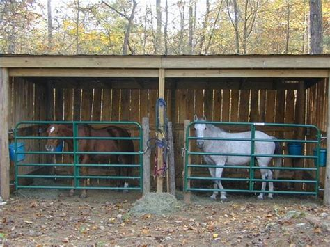 Info How To Build A Cheap Horse Shed