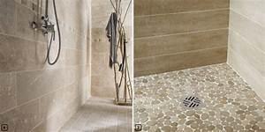 Revetement Douche Italienne : 5 rev tements de sol pour une douche italienne ~ Edinachiropracticcenter.com Idées de Décoration