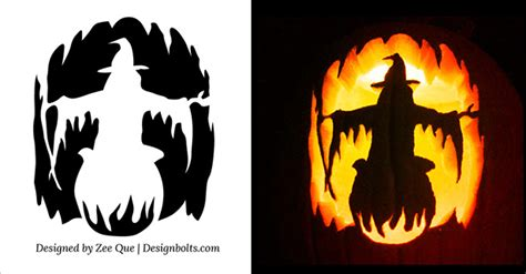 scary but easy pumpkin carving patterns free halloween scary pumpkin carving stencils patterns templates ideas 2015