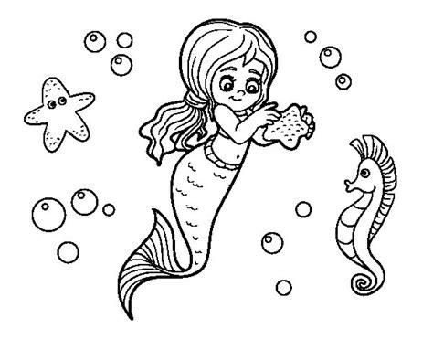 disegni di sirene da colorare disegno di una bellissima sirena da colorare acolore