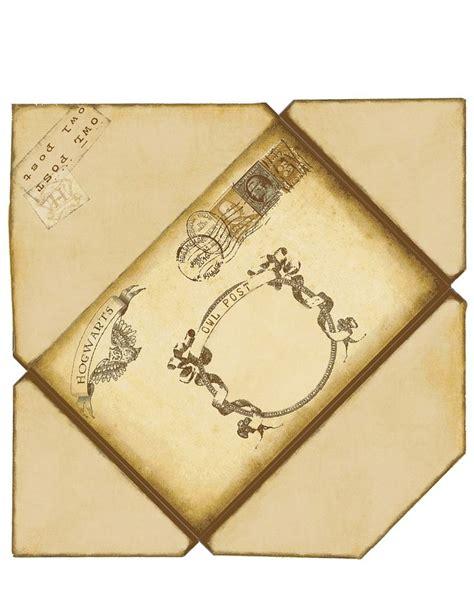 harry potter envelope  printed
