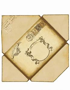 Harry potter envelope if printed on 8 1 2 x 11 this will for Harry potter envelope template