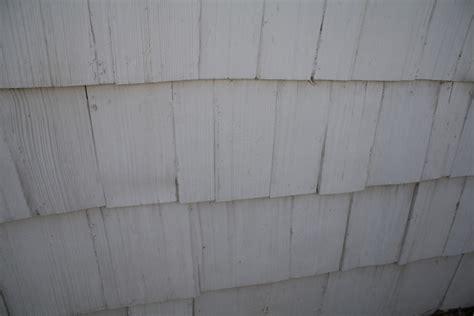 identify  siding shingles painting smell