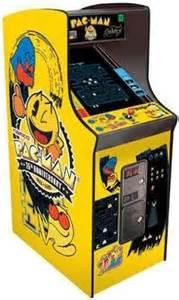 25th anniversary pac man ms pac man galaga arcade game