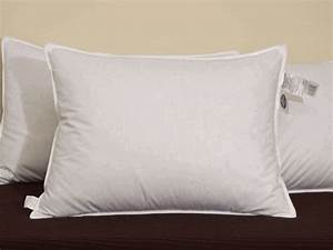 Pacific coast down surround standard pillow set featured for Comfort inn hotel pillows