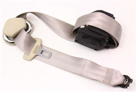 Rh Rear Seat Belt 2005 Vw New Beetle Beige Seatbelt Seat Belt Buckle Pretensioner Repair Nice Mens Belts Country Western And Buckles Serola Sacroiliac Uk Original Penguin Reversible Leather Small V Drive Do Ab Work Bodybuilding Driver Resistant High