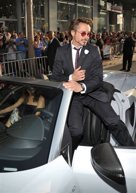Audi R Spyder On The Red Carpet At Iron Man  World