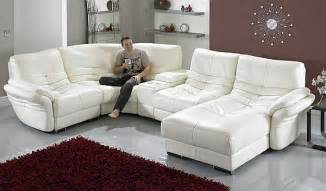 choosing white leather sofas for your home elegant