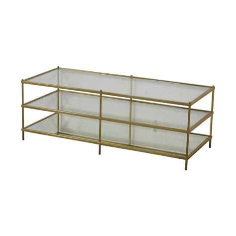 Seller assumes all responsibility for this listing. 61% OFF - West Elm West Elm Brass Terrace Coffee Table / Tables