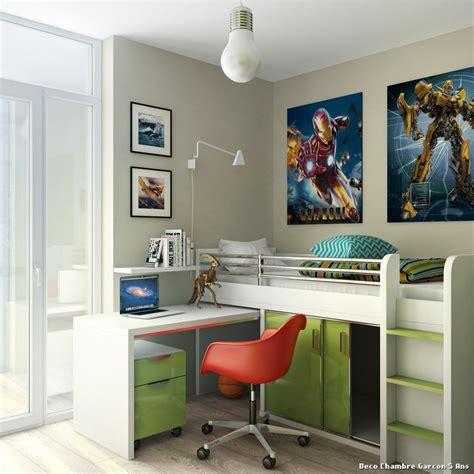 chambre enfants garcon deco chambre moderne ado