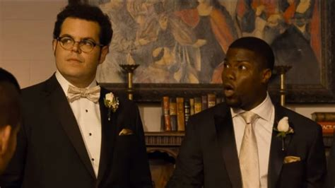 movie review the wedding ringer starring kevin hart josh gad kaley cuoco abc news