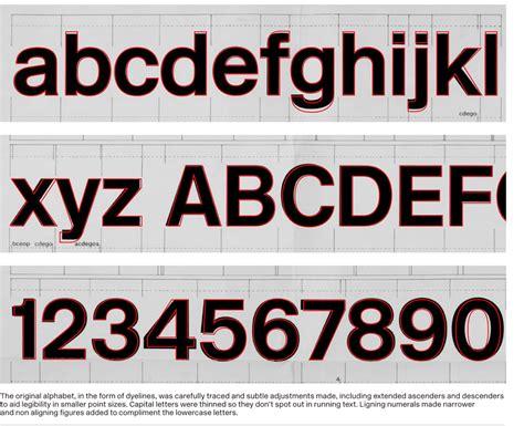 Rail Alphabet Font Free