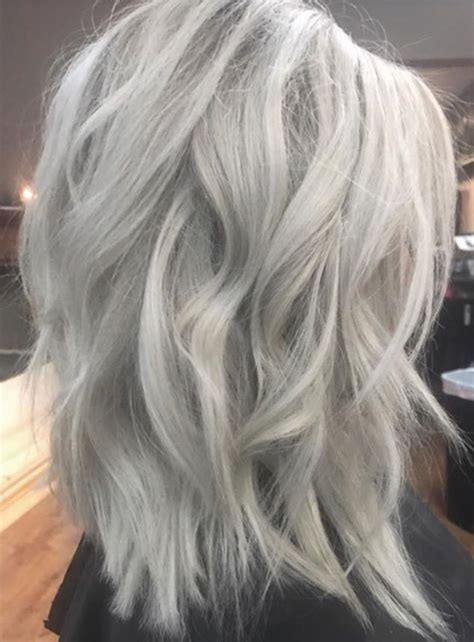 Pin By Morgan Smith On Lovely Locks In 2019 Ice Blonde
