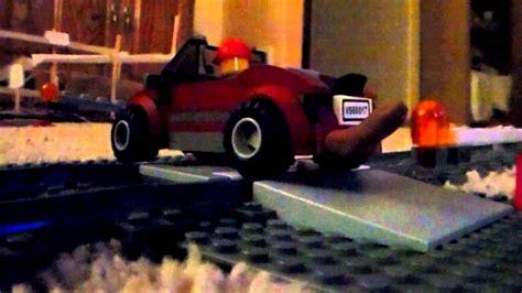 Lego Train Crashes Into Car