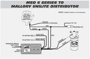 Mallory Distributor Wiring Diagram In 2020