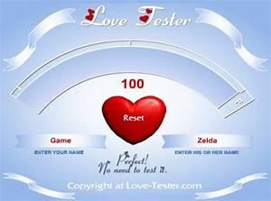 #lovetester | E... Love Tester