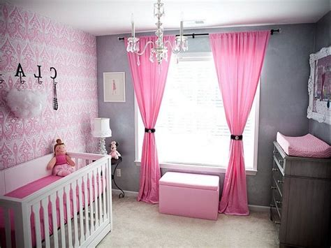 Baby Girl Nursery Decorating Ideas On A Budget  Baby Room