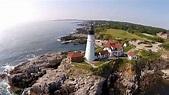 Portland Head Light, Cape Elizabeth, Maine DJI Phantom 2 ...