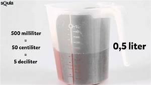 Milliliter In Cl : squla uitlegfilmpje rekenen met inhoud liter deciliter ~ Watch28wear.com Haus und Dekorationen
