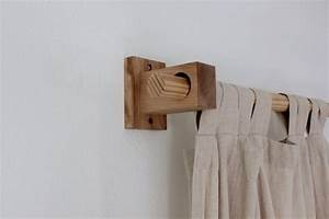 curtain holders curtain rod holders modern wood brackets With modern curtain holders