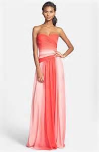 nordstroms bridesmaid dresses lhuillier ombre bridesmaid dress from nordstrom the merry