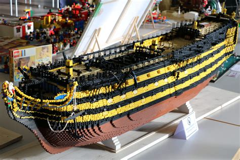 LEGO MOCs: H.M.S. Victory & Soleil Royal
