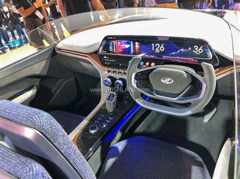 mahindra funster electric concept debuts  kms range
