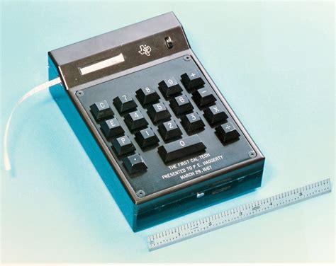 handheld calculators handheld calculator developed