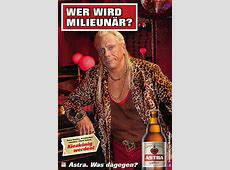 Astra Bier Werbung Girl Detection Billboard