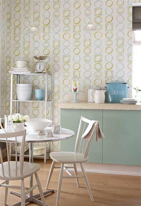 Ideen Für Tolle Tapeten Muster In Der Küche