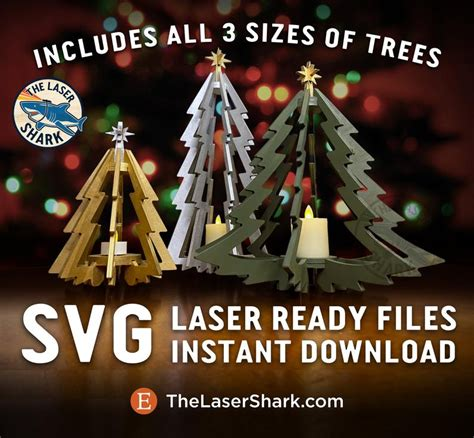 Choose from over a million free vectors, clipart graphics, vector art images, design templates, and illustrations created by artists worldwide! 3D Christmas Trees SVG Laser cut files for Glowforge Laser ...