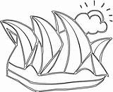 Australia Coloring Pages sketch template